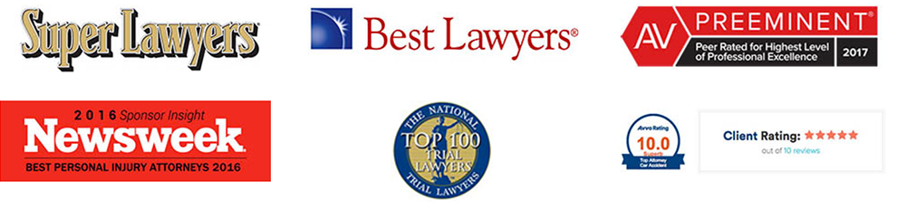Best Gilroy Personal Injury Lawyer Awards
