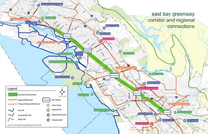 Project Map (Source: Urban Ecology)